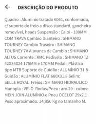 Título do anúncio: Vendo bike Caloi