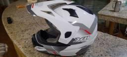 Capacete de moto x11 - Crossover top de linha