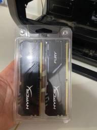 Título do anúncio: Kit Memoria HyperX Fury 2x 16gb 3200mhz