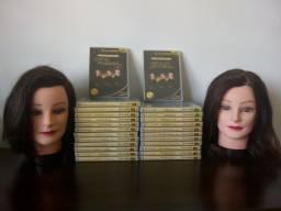DVDs vídeo aula cabeleireiros De Lalastra