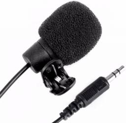 Mini Microfone De Lapela Profissional Plug P2....