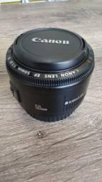Lente Canon 50mm 1.8II