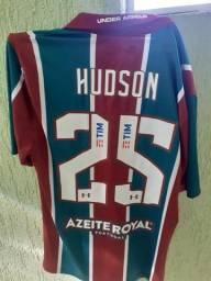 Camisa Oficial Fluminense Hudson autografada