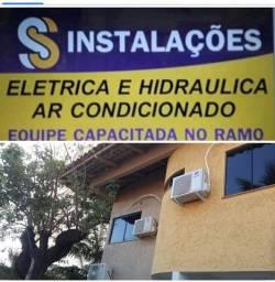 Instalação e manutenção elétrica hidráulica e ar condicionado equipe capacitada no ramo