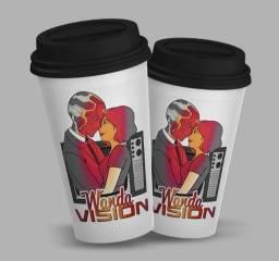 Copo Starbucks Wanda Vision
