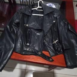 Vendo essa jaqueta toda de couro