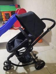 Carrinho + Bebê Conforto com Base Safety 1st