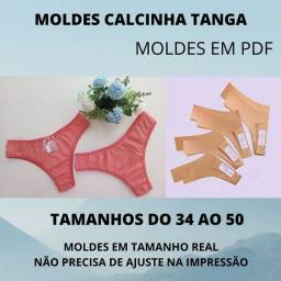 Kit moldes de calcinhas