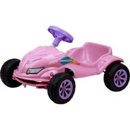 Carro a Pedal Speed Play Rosa.