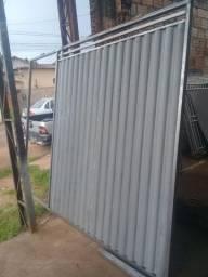 Portao galvanizado