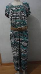 Vestido longo baggio Tam GG