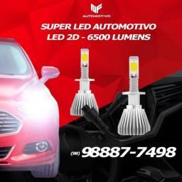 kit Super LED 2D Automotivo ? Temos para todos os carros