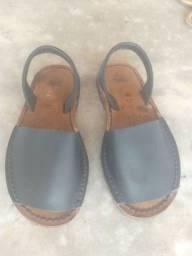 Sandália couro infantil Tex