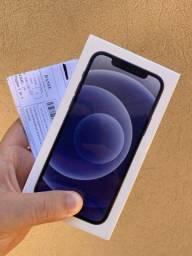 iPhone 12 128gb Preto - NOVO