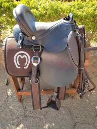 Sela Mangalarga Pista e Cavalgada Para Cavalos