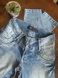 Calça jeans Lotus trans