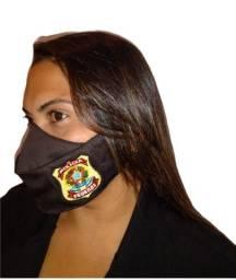Máscara Personalizada Brasão Policia Federal