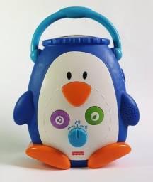 Projetor Musical Pinguim Fisher Price Brinquedo Para Bebê