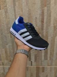 Tenis Adidas e Nike Preto, Azul e Vermelho N*38,39,40