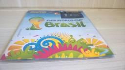 Álbum Copa Do Mundo 2014 Original de Coleção lindo com figurinhas