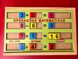 Operações Matemáticas - brinquedo educativo