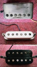 Captadores para guitarra single humbucker