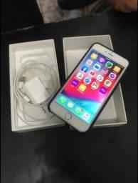 iPhone 6 plus 64 gb caixa nota fiscal biometria ok câmera toop carregador e fone