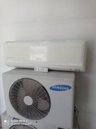 Samsung 9000 BTUs em 4 x sem juros zap *