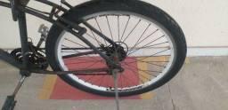 Bicicleta com câmbio Shimano