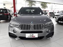 BMW X5 XDRIVE 50i M SPORT 4.4 Bi-TURBO 2014 CINZA.