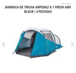 IMPERDÍVEL!!!! BARRACA DE TRILHA ARPENAZ 4.1 FRESH AND BLACK | 4 PESSOAS