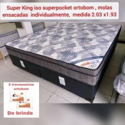 Super king Completa - Molas  ensacadas
