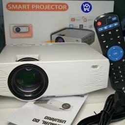 PROJETOR SMART COM TV BOX<br><br>