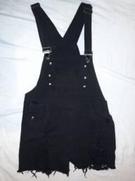 Título do anúncio: Shein   Macacão preto com bolsos
