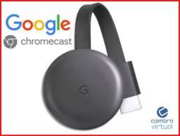 Chromecast 3 Google 1080p 3ª Geraçao
