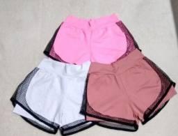 Shorts Duplo Poliamida - Promoção