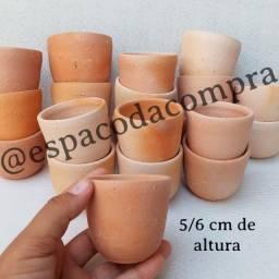 Mini vasos para mini cactos e suculentas