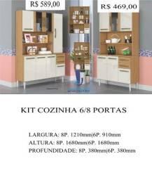 Cozinha 6 portas 469,00,00