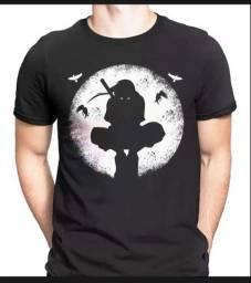 Camisetas Naruto Akatsuki,Itachi,Nuvem