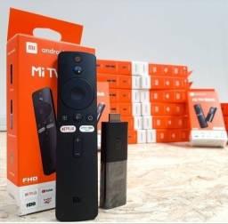 Mi Tv Stick - Transforma TV em Smart - (Lacrado - Modo Chromecast + Garantia)