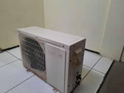 Ar condicionado cônsul split 9000 btus, frio, com filtro anti bactérias.