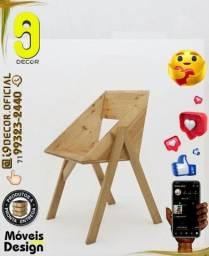 Móveis em Madeira Cadeira Adega *