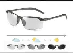 Título do anúncio: Óculos de Sol com Lentes Inteligentes Polarizadas/Fotocromáticas/Proteção UV