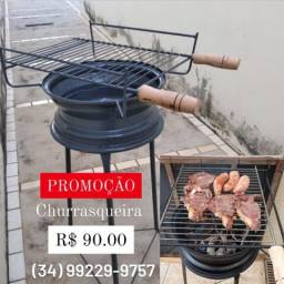 Promoção de churrasqueira
