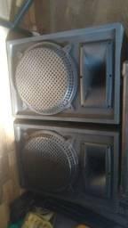 Kit 2 caixas acústicas Igreja/bar