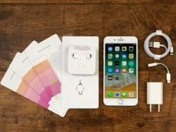 Iphone 8 Plus Silver 256 gb, novo, nota, nacional, 3 meses de uso, garantia até 09/04/2019