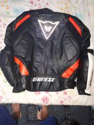 Jaqueta de couro,calça de couro Dainese e Bota Texx