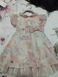 Vestido festa bebê