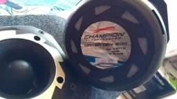 Trio cornetas Champion