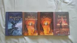 Livros do Percy Jackson